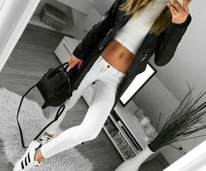 black and white, fashion, and tumblr image