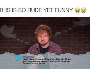 ed sheeran, funny, and lol image