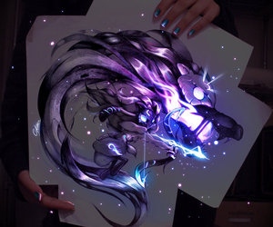 kindred, lol, and league of legends image