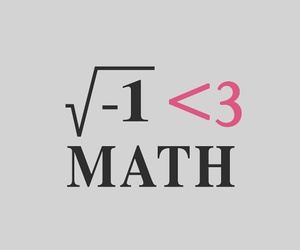 math, school, and love image