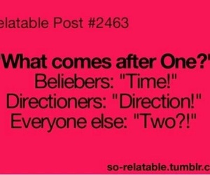 one direction, directioners, and justin bieber image