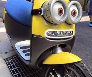 minions and scooter image