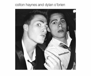 teen wolf, colton haynes, and dylan o'brien image