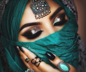 arab, beauty, and chic image