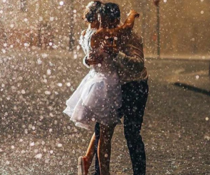 rain, dance, and love image