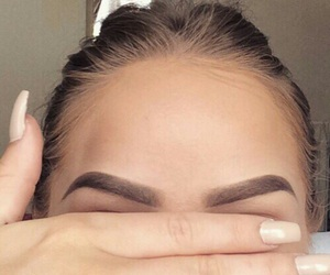 beauty, eyebrows, and goals image