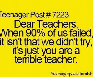 teacher, funny, and teenager post image