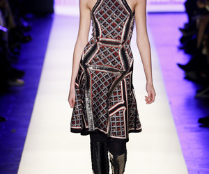 herve leger, herve leger by max azria, and fall 2016 ready-to-wear image