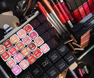 Maybelline, girly, and makeup image