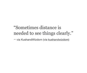 distance and quote image