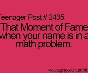 fame, funny, and math image