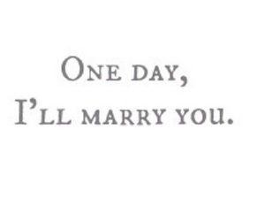 love, marry, and one day image