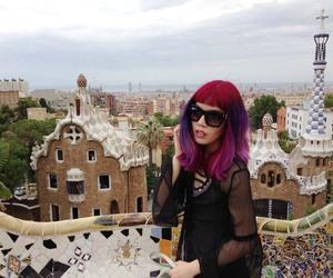 park güell, gaudí architecture, and barcelona fashion blogger image