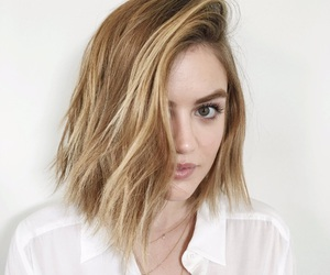 lucy hale, blonde, and pll image