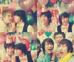 korean, balloons, and super junior image