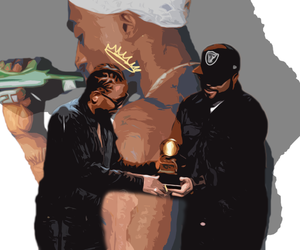 ice cube, kendrick lamar, and tupac image