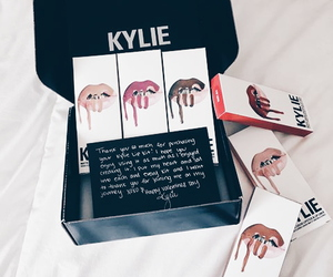 lipstick, makeup, and kylie image