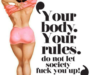 body, rules, and society image