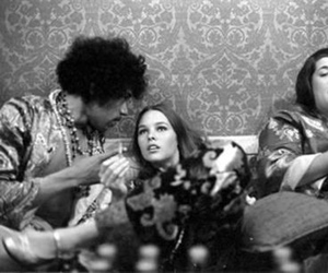 Jimi Hendrix, mama cass, and michelle phillips image