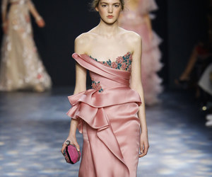 fashion, gown, and Marchesa image