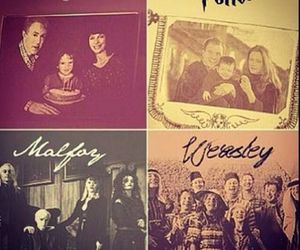 harry potter, family, and weasley image
