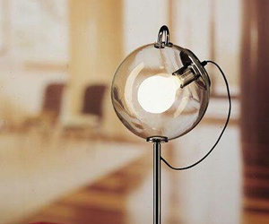 home, lamp, and retro image