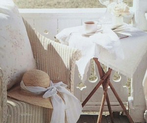 wicker, home, and porch decor image