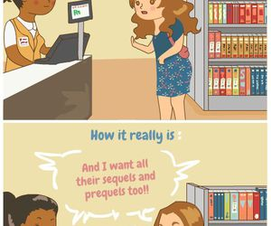 book, bookstore, and bookworm image