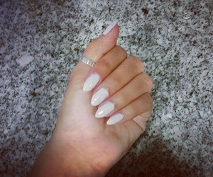 chic, manicure, and love image