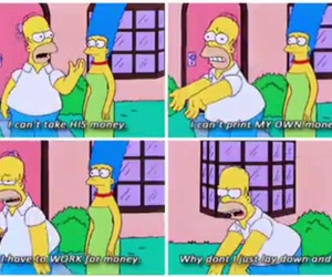 simpsons and money image