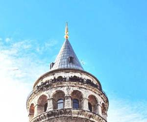 beautiful, istanbul, and sky image