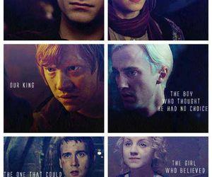 harry potter, luna lovegood, and hermione granger image