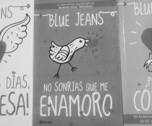 blue jeans, libros, and twitter image
