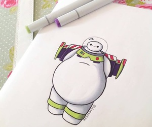 baymax, disney, and toy story image