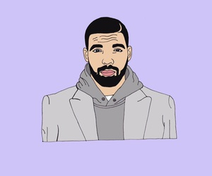 background, cool, and Drake image