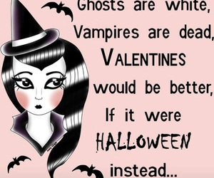 ghosts, Halloween, and Valentine's Day image