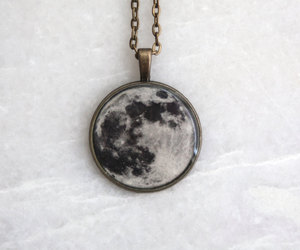black, space jewelry, and etsy image