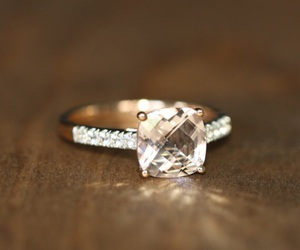 Couture, diamonds, and wedding ring image