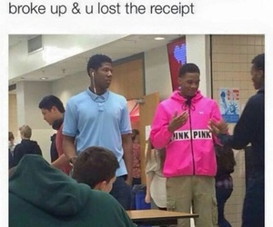 funny and pink image