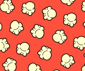 background, popcorn, and wallpaper image