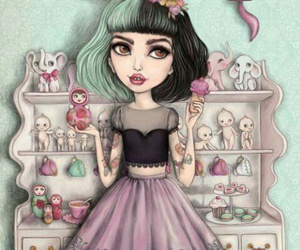 melanie martinez, cry baby, and art image