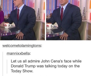 funny, john cena, and tumblr image