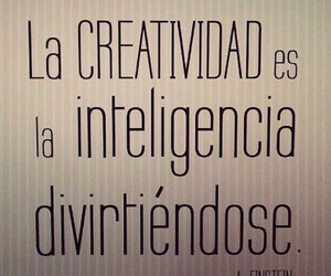 creativity, frases, and intelligence image
