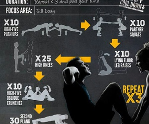 workout, fitness, and friends image