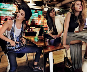 gigi hadid, kendall jenner, and model image