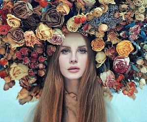 flowers, lana del rey, and ️lana del rey image