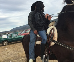 caballo, vaquero, and cowboy image