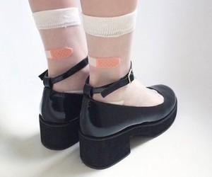 grunge, pale, and socks image