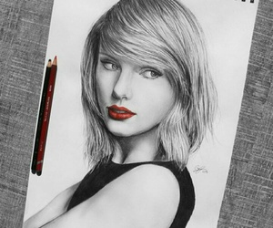 art and Taylor Swift image