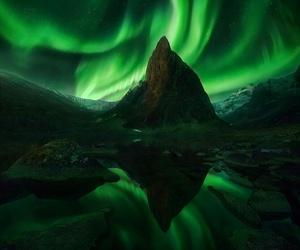 aurora, correction, and black sky image